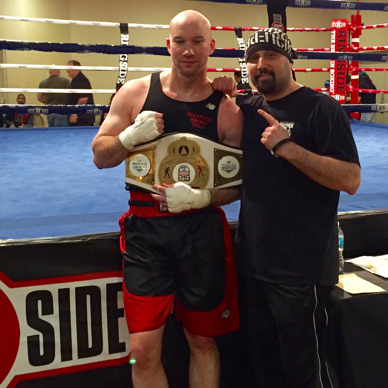 Jeff Mucci Masters Division Boxing