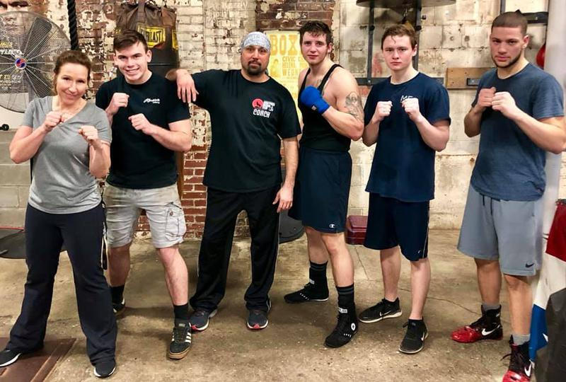 Wolfpack Boxing Club Coaching Staff