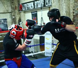 Wolfpack Boxing offers optional Sparring