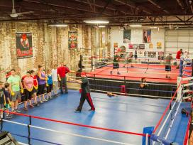 Wolfpack Boxing Club, Pittsburgh PA