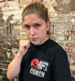 Wolfpack Boxing Coach Hannah