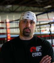 Coach Jeff Mucci of Wolfpack Boxing Club in Pittsburgh PA