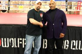 Wolfpack Boxing Mike Tyson and Jeff Mucci Wolfpack Boxing Club Pittsburgh